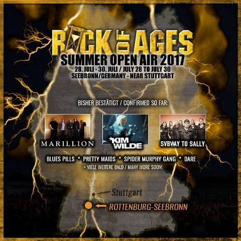 Avance del Rock of Ages 2017