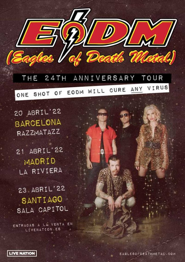 """Eagles Of Death Metal - """"The 24th Anniversary Tour"""""""